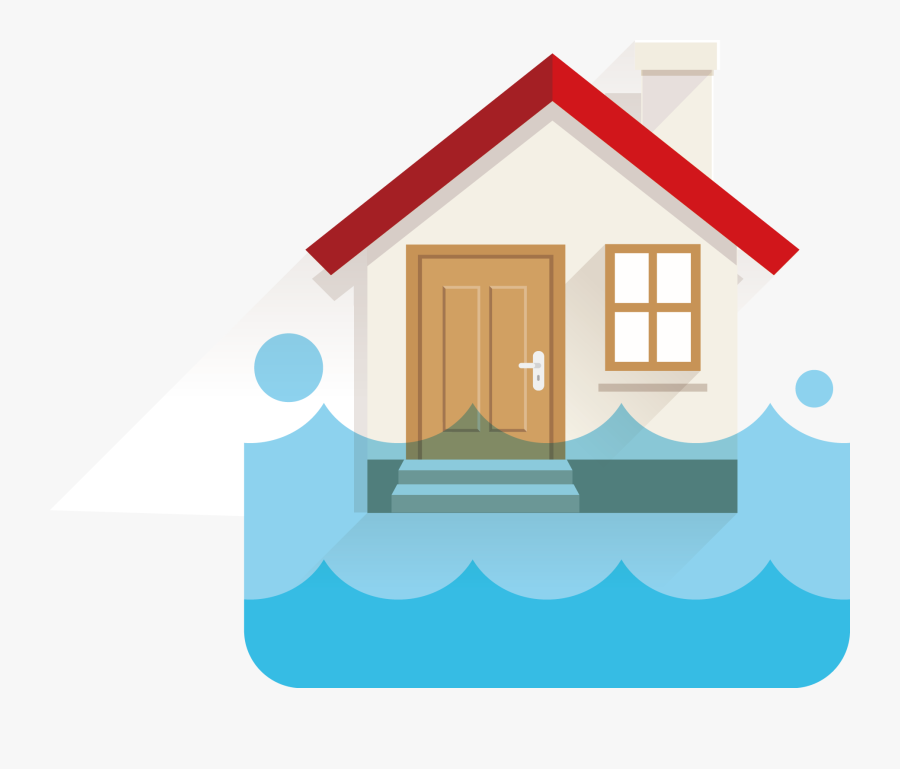 Graphic Download Flood Water Damage Wesmor - Look Listen Learn Be Aware Fire Can Happen Anywhere, Transparent Clipart