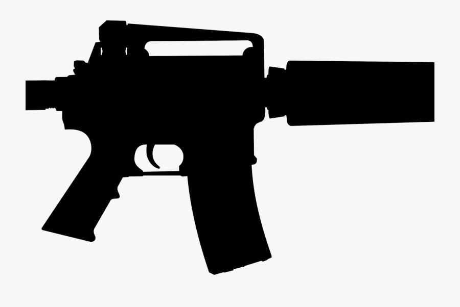 Free Ar 15 Guns Cliparts, Download Free Clip Art, Free - Ar 15 Transparent Background, Transparent Clipart
