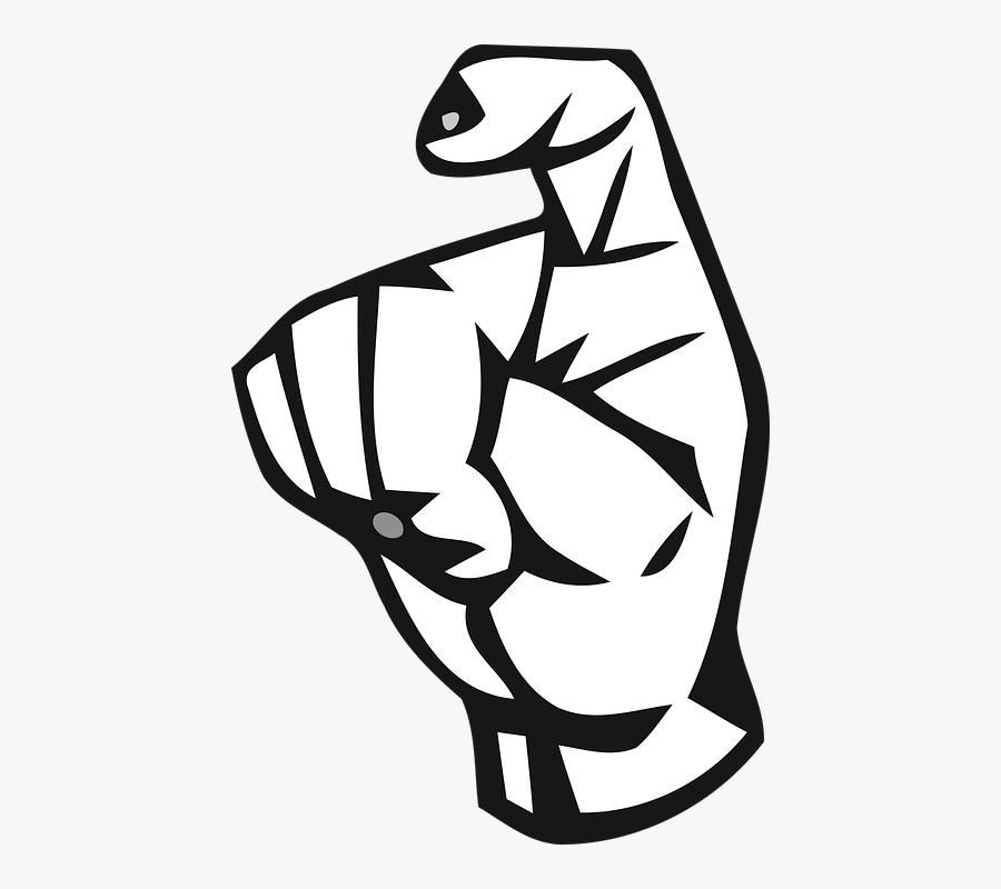 Alphabet, Deaf, Deaf Alphabet, Hand, Letter, Mute, - Need Sign Language Clipart, Transparent Clipart