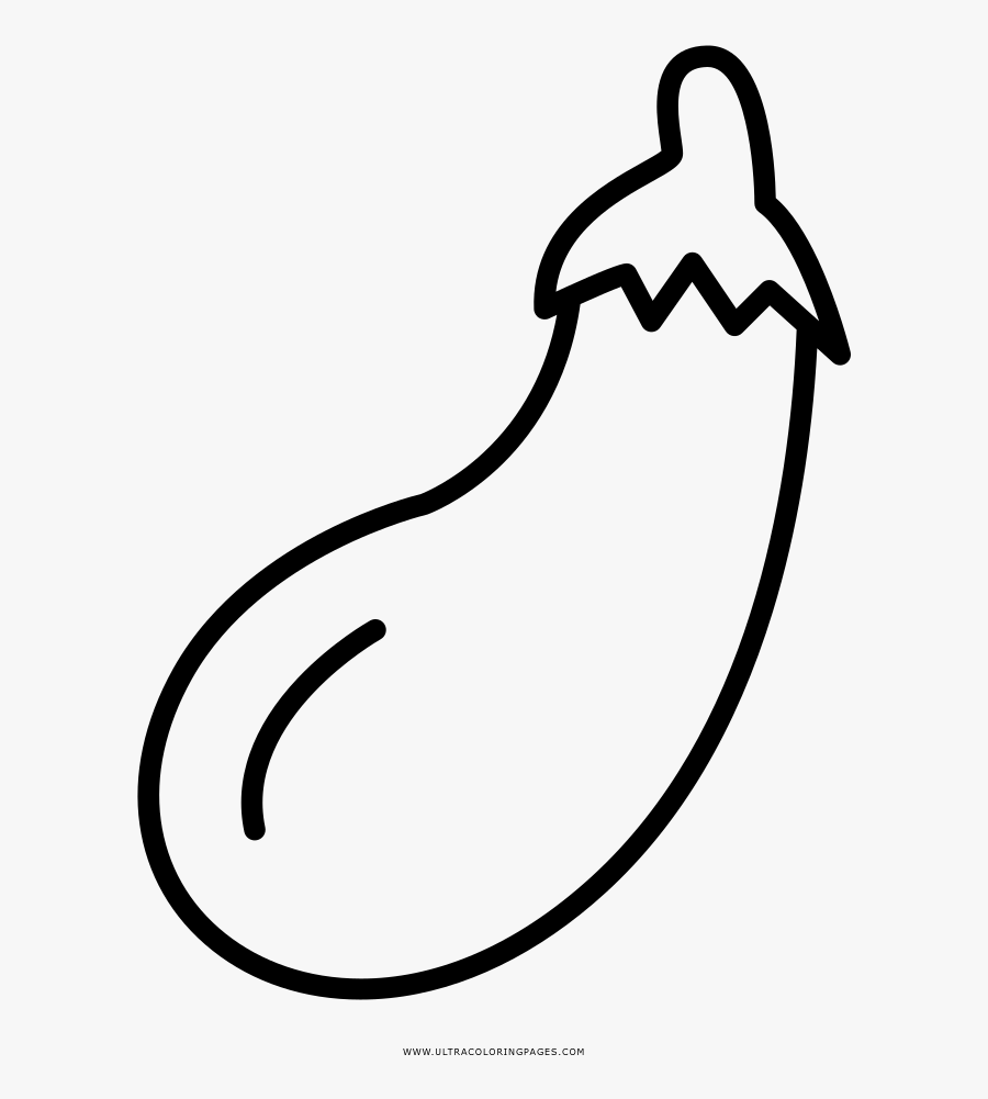 Clip Art Eggplant Clipart Black And White Gambar Terong