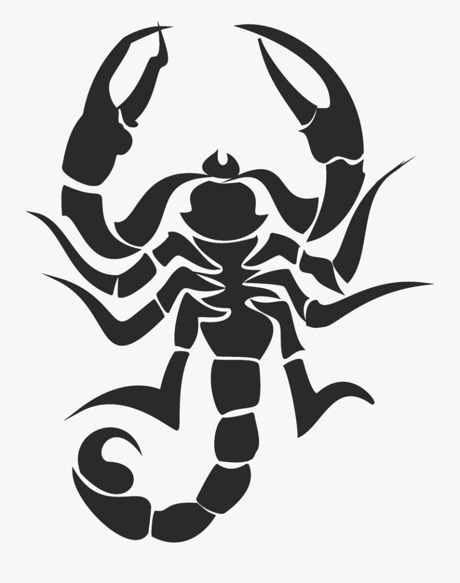 Scorpion Clip Art - Scorpion Black Cartoon, Transparent Clipart