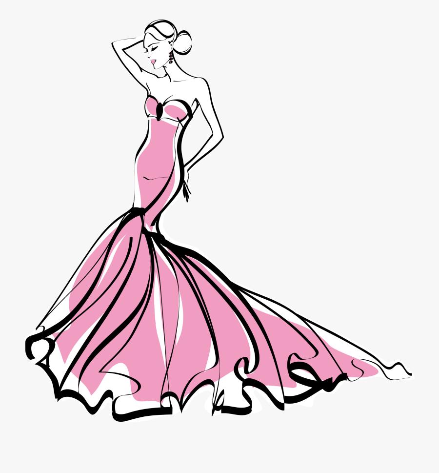 Clip Art Fashion Clip Art - Fashion Png, Transparent Clipart