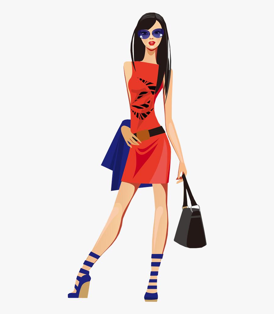 Fashion Model Clipart Png, Transparent Clipart