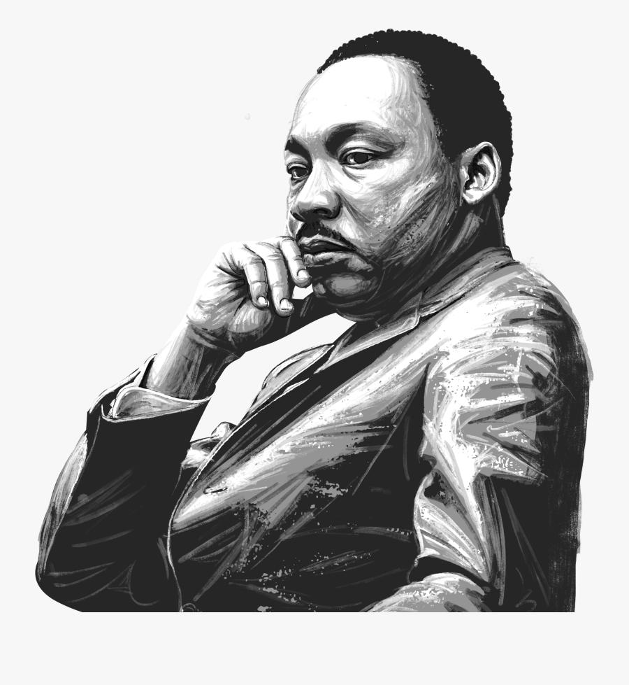 Martin Luther King Jr - Martin Luther King Jr Png, Transparent Clipart