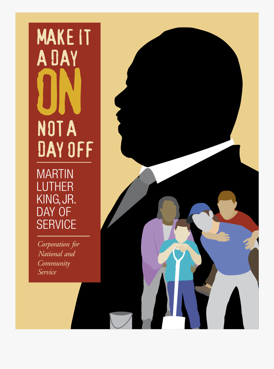 Martin Luther King, Jr Day Of Service Logo Png Transparent - Martin Luther King Jr Day Of Service, Transparent Clipart