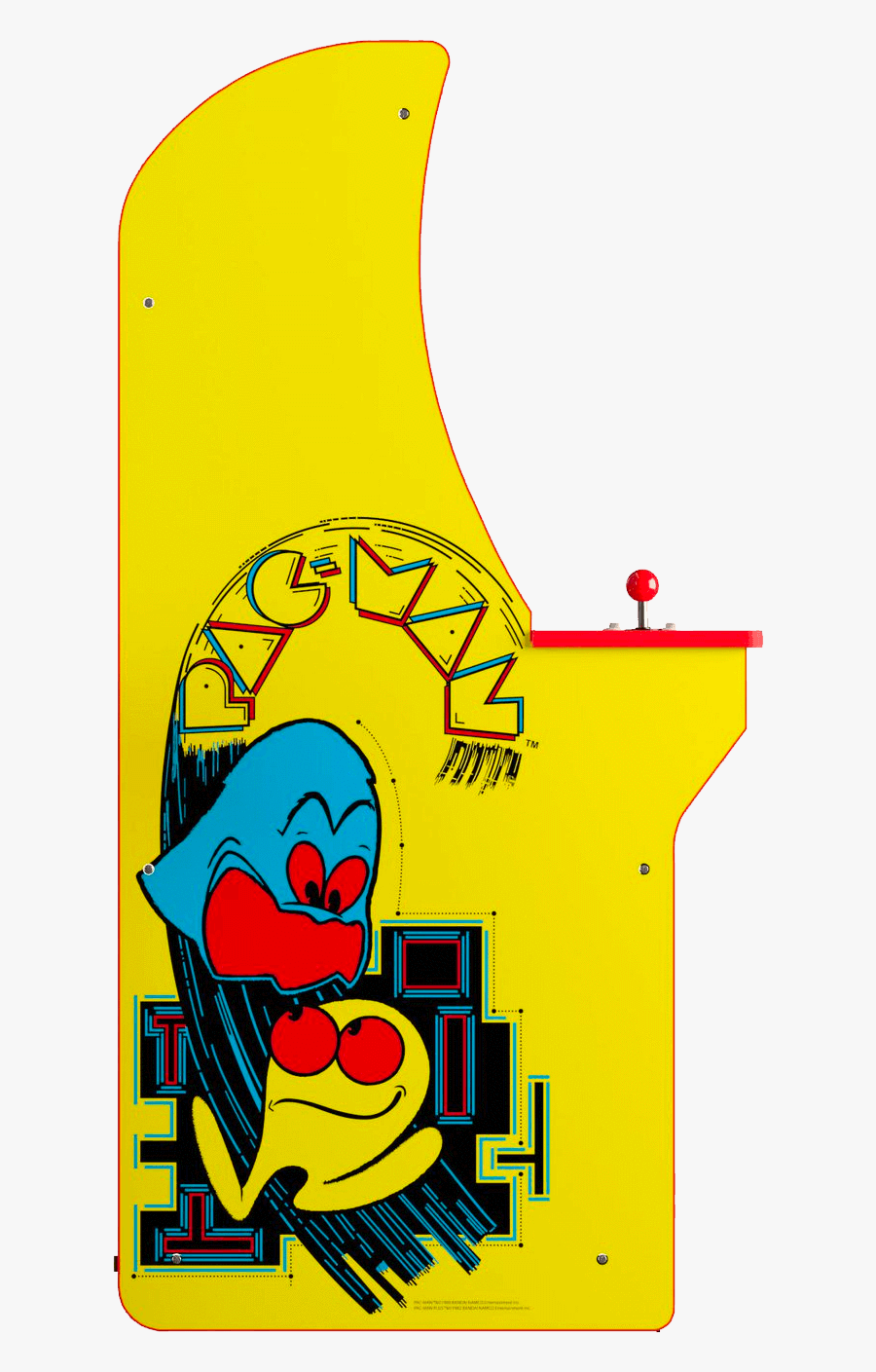 """Pac Man Arcade Cabinet""""  Class=""""lazyload Lazyload Fade - Arcade1up Pacman, Transparent Clipart"""