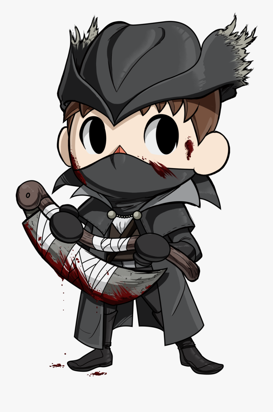 Bloodborne Clipart Leaf - Animal Crossing Villager Fanart, Transparent Clipart