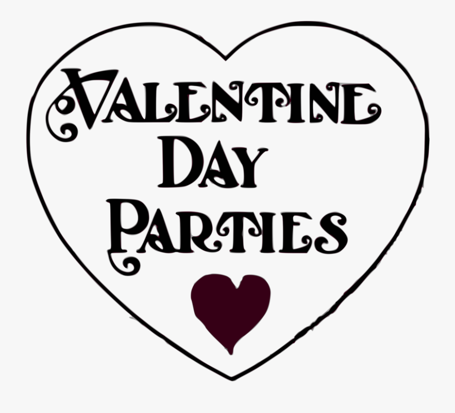 Valentine Day Parties - Valentine's Day Party Clipart, Transparent Clipart