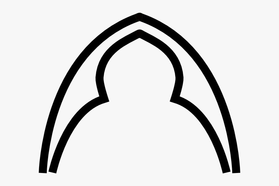 Minnesota Vikings Clipart - Gothic Arch Shape, Transparent Clipart