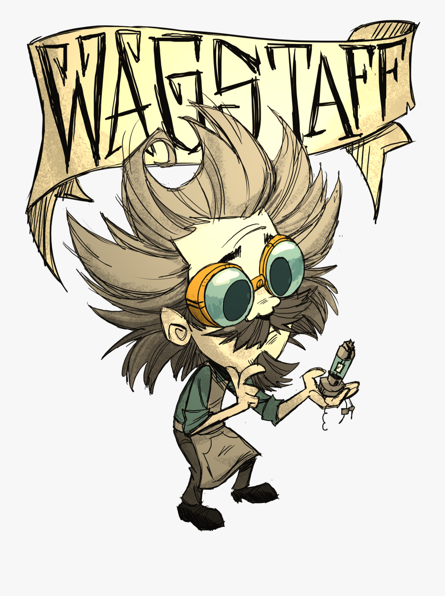 Don T Starve Together Wagstaff, Transparent Clipart