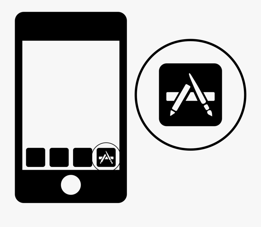 Create Native Android And Ios Apps - App Store, Transparent Clipart