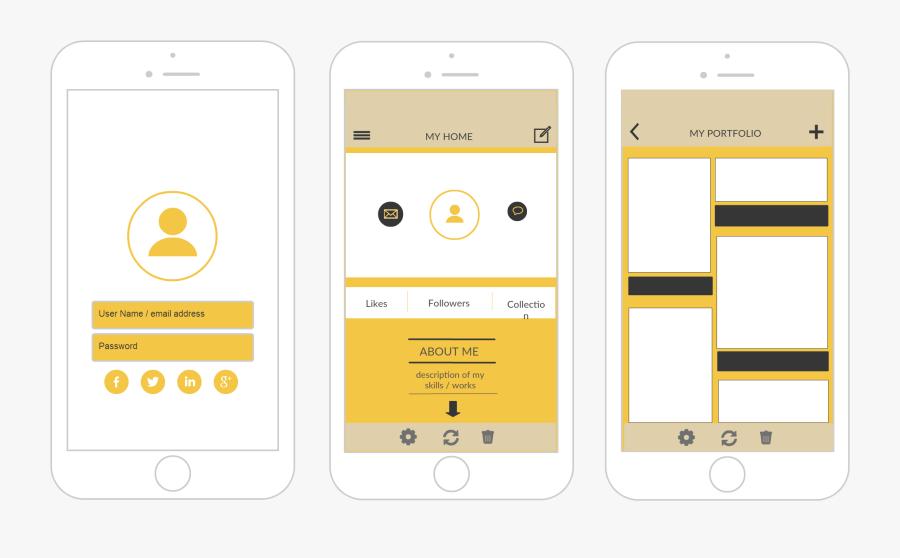 Clip Art Iphone Apps Templates - Iphone Template For App Design, Transparent Clipart