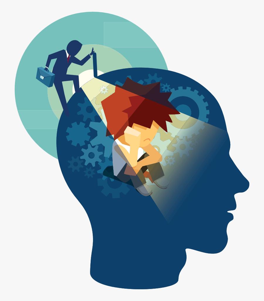 Deep Assessment Of Cognitive & Emotional Psychology - Behavioral Science, Transparent Clipart