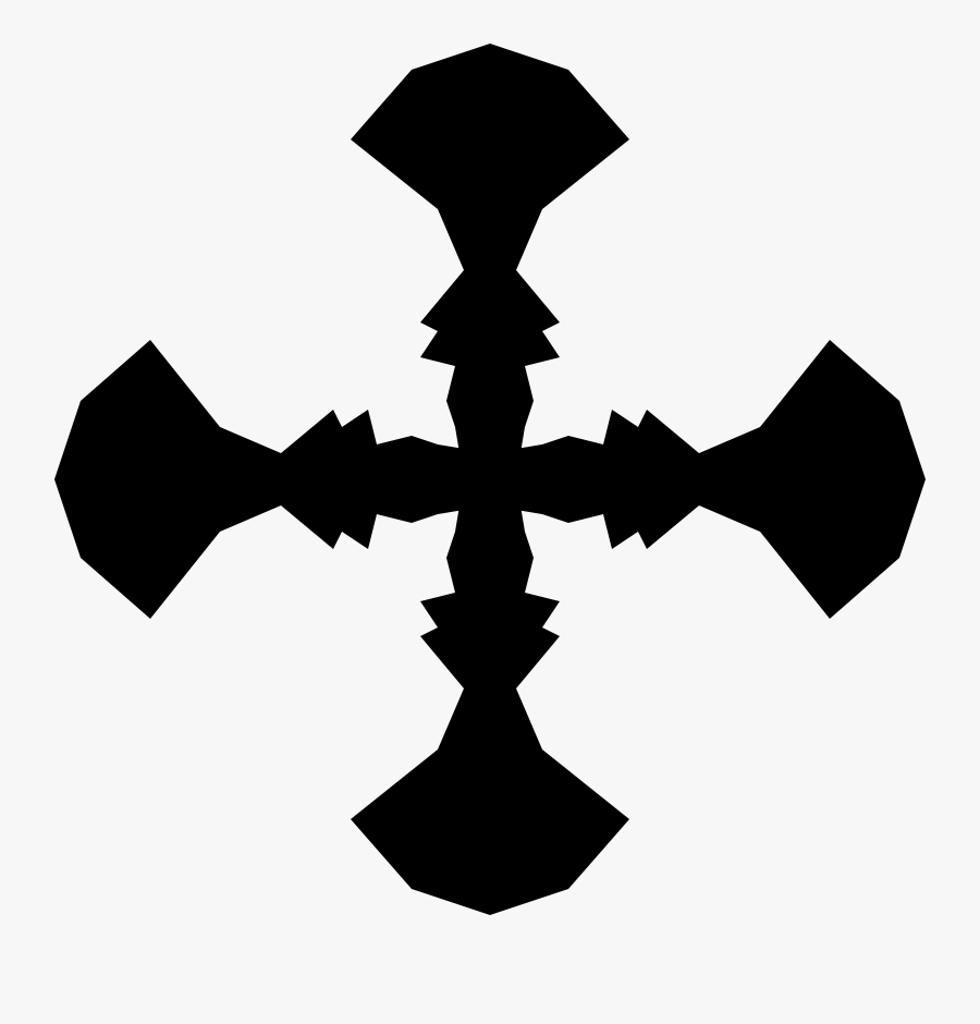 Christian Cross Crosses In Heraldry Computer Icons - Heraldic Cross Clip Art, Transparent Clipart
