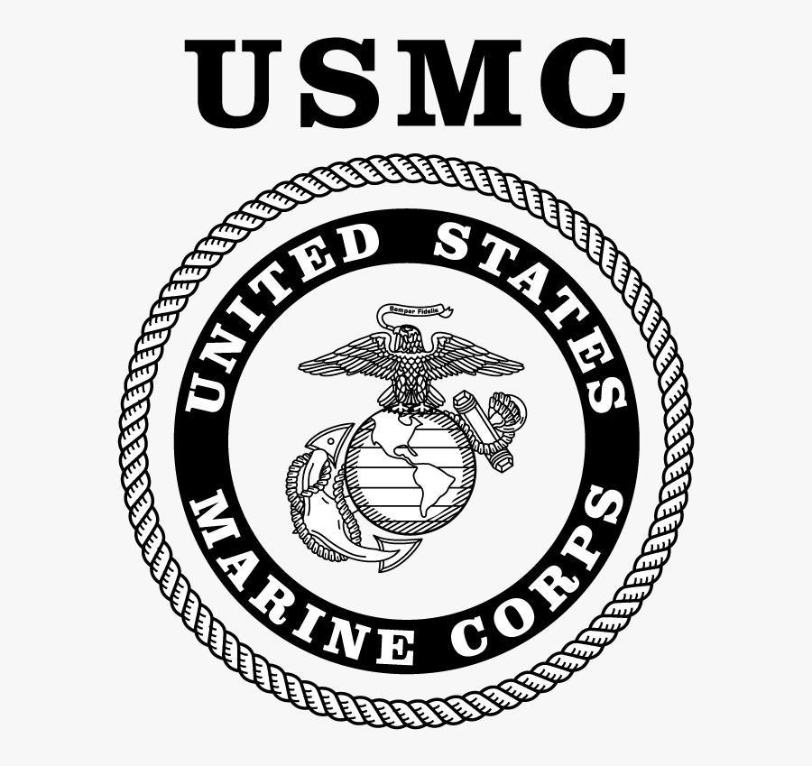Marine Corps Logo - Emblem, Transparent Clipart