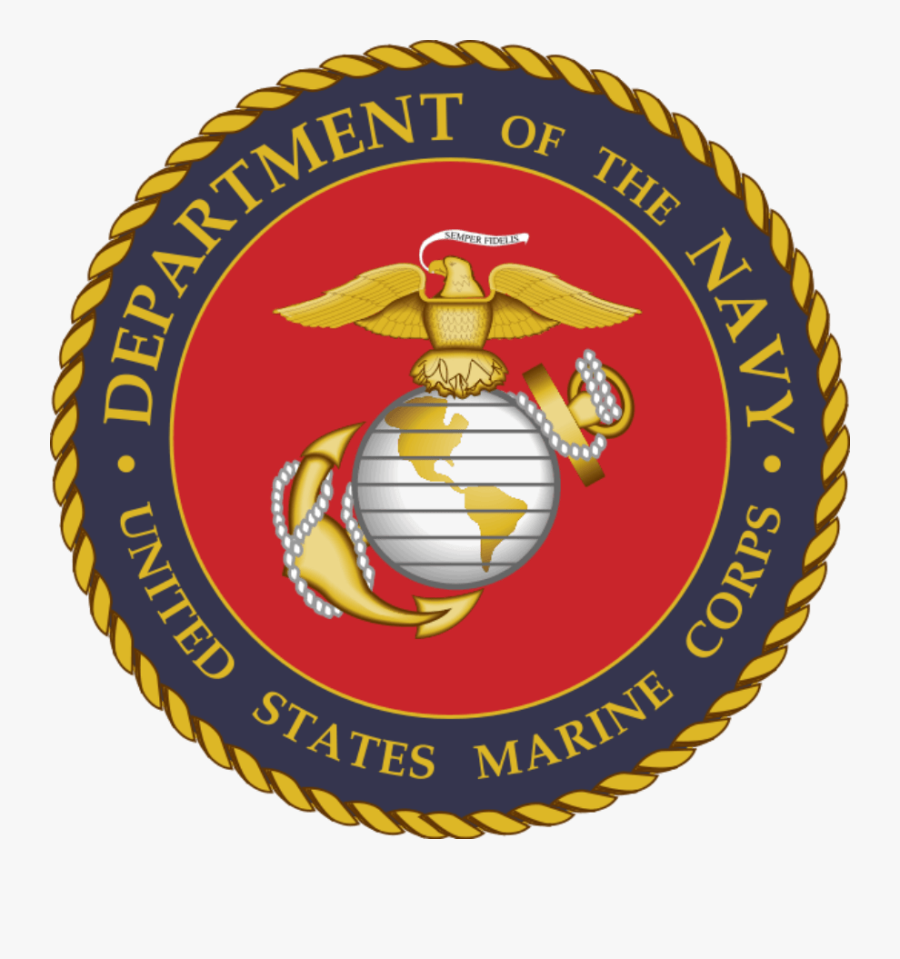Marine Corps Official Seal, Transparent Clipart