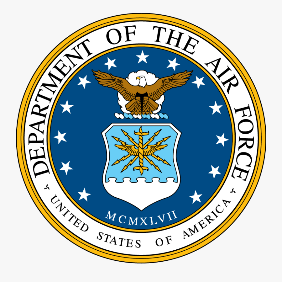 Air Force Seal - Seal Of The United States Air Force, Transparent Clipart