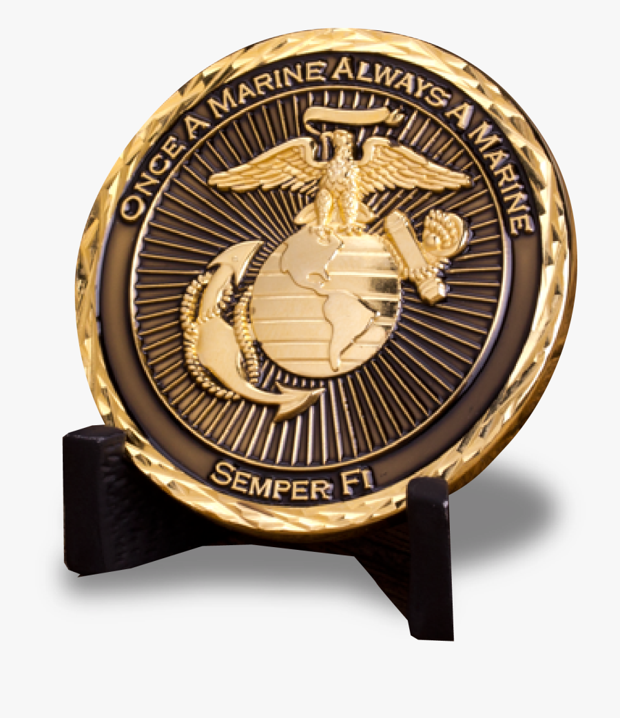 Marines, We Encourage You To Take The First Step And - Emblem, Transparent Clipart