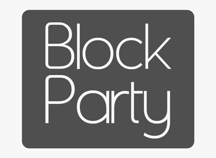 Block Party What's The Point - Calligraphy, Transparent Clipart