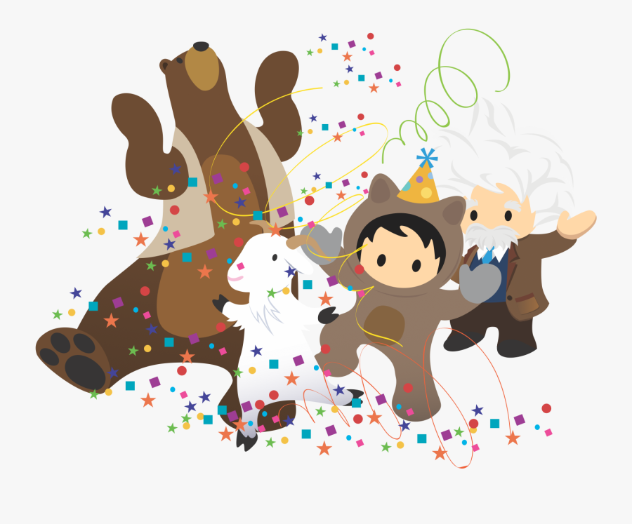 Salesforce Celebrate, Transparent Clipart