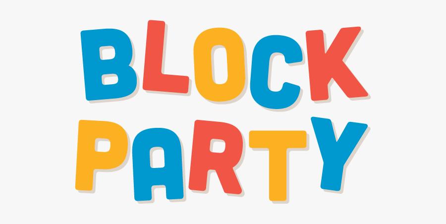 Clip Art Neighborhood Block Party, Transparent Clipart