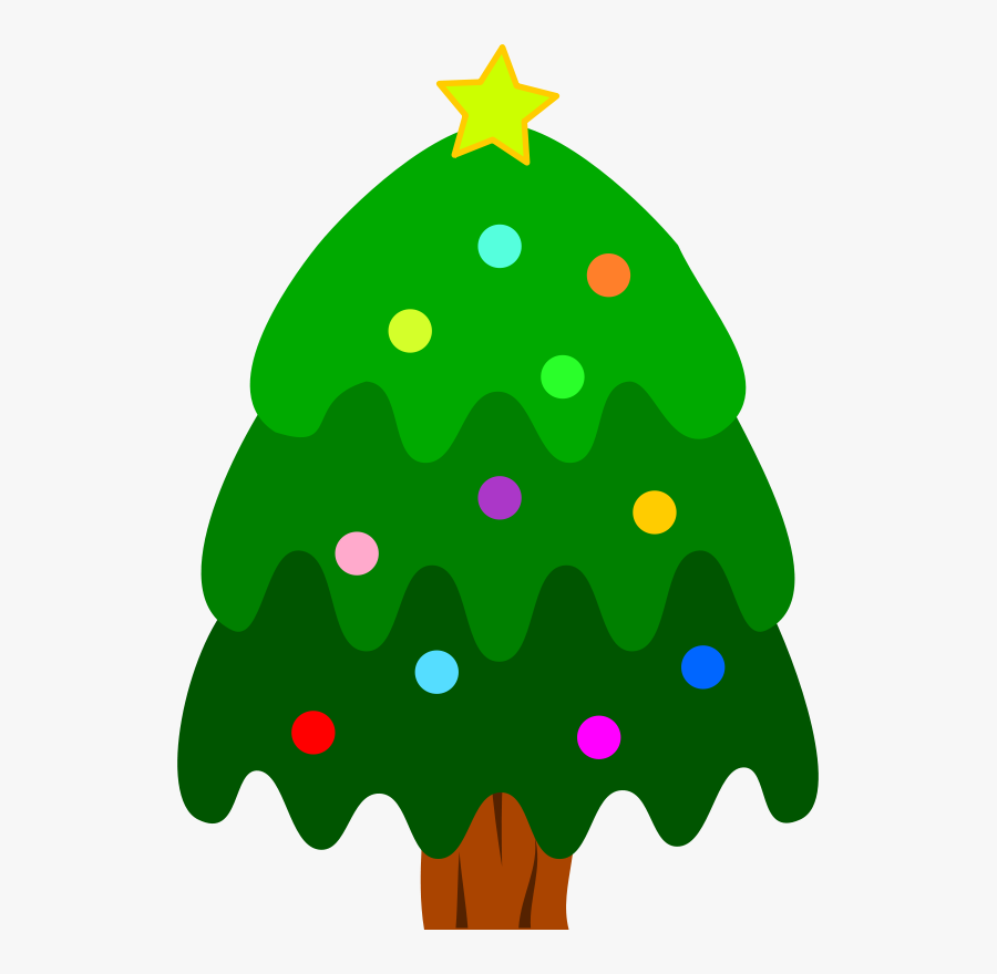 Christmas Tree - Christmas Day, Transparent Clipart