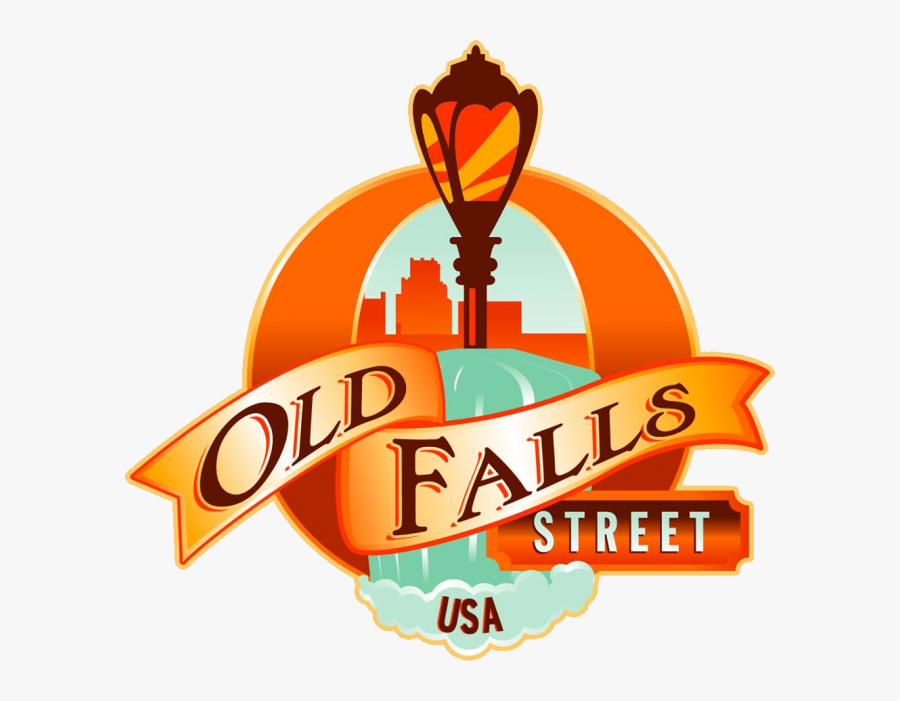 Old Falls Street, Transparent Clipart
