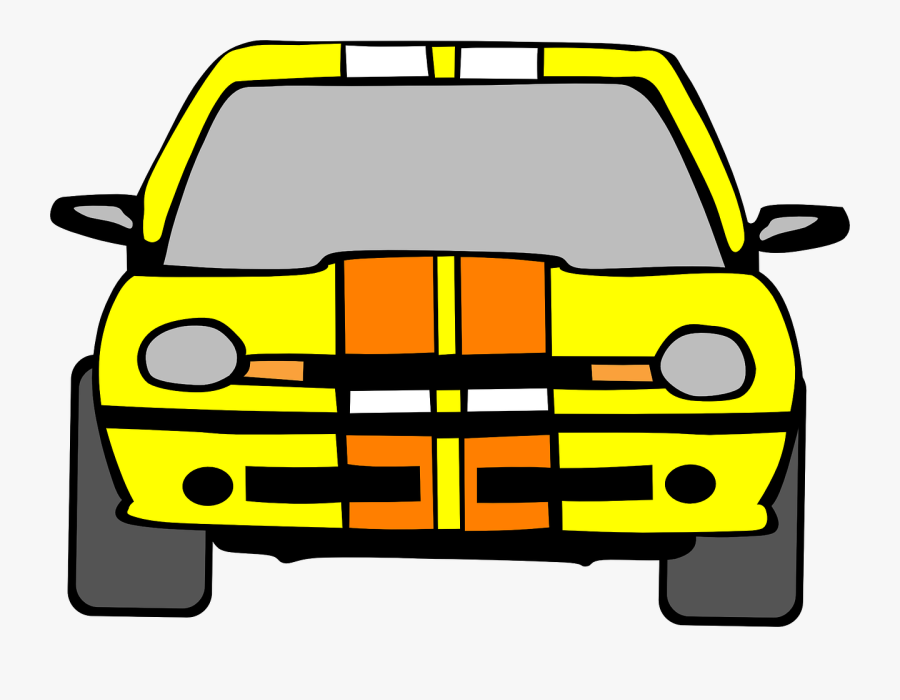 Taxi Cab Car Free Picture - Car Front View Clipart, Transparent Clipart