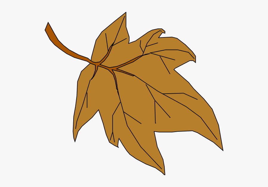 Brown Fall Leaves Clipart, Transparent Clipart