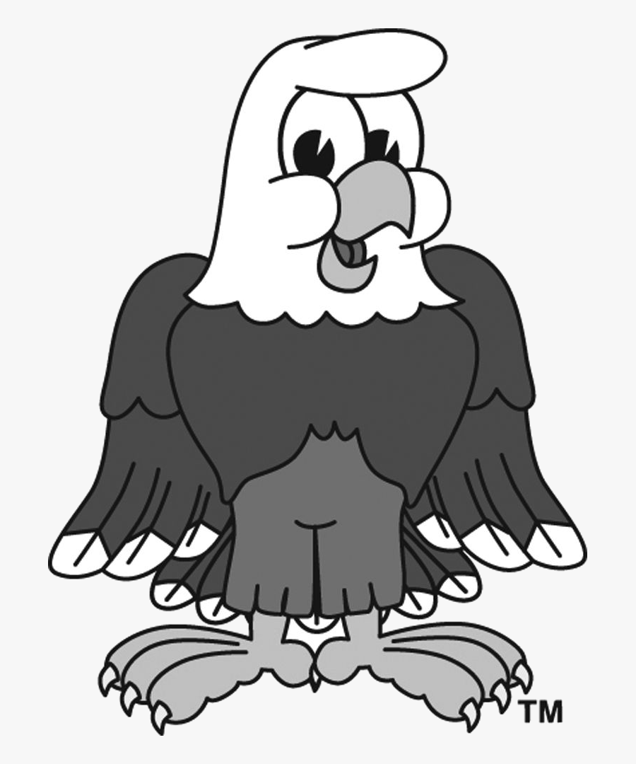 Eagle Cartoon Clipart Free Clip Art Transparent Png - Eagle Clip Art Black And White Free, Transparent Clipart