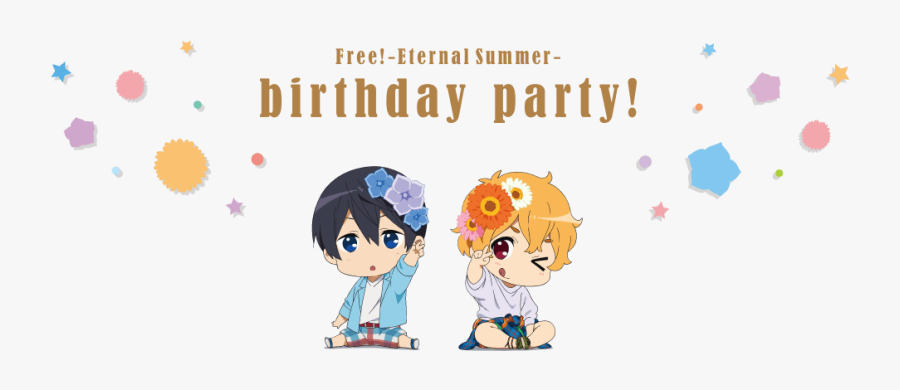 Eternal Summer Birthday Party ^^ Happy Birthday Nagisa-chan - Free Eternal Summer Chibi, Transparent Clipart