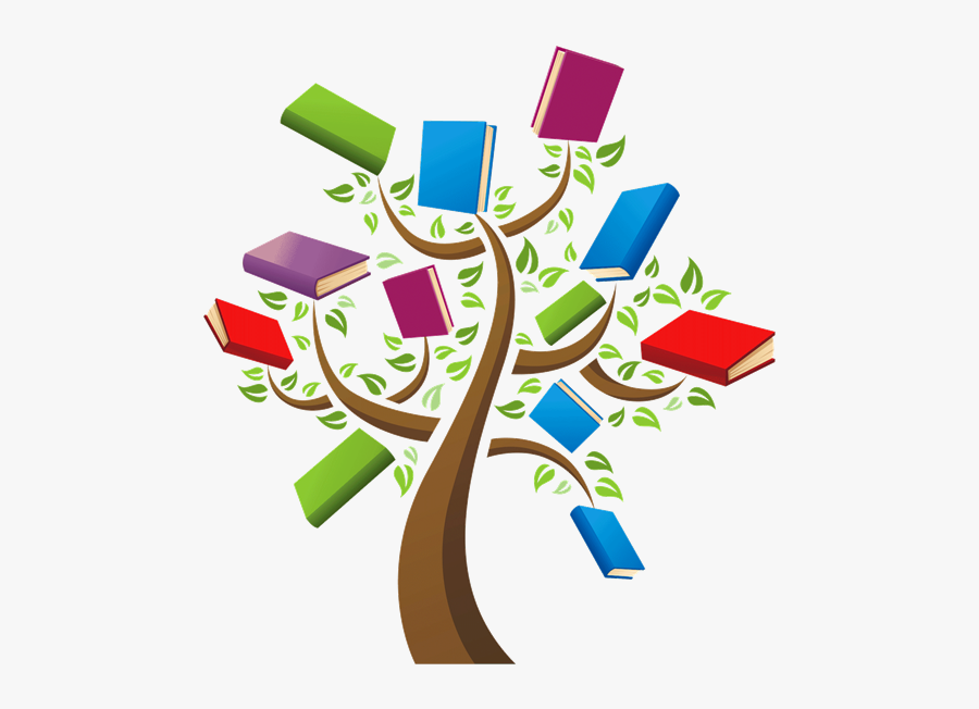 Anndee Taylor - Book Tree, Transparent Clipart