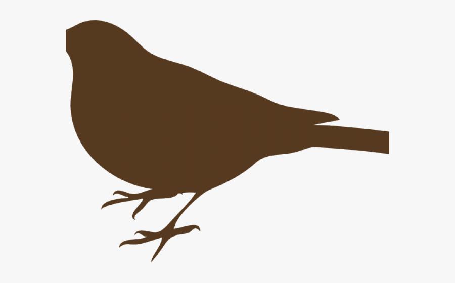 Transparent Robin Bird Png - Bird Silhouette Clip Art ...