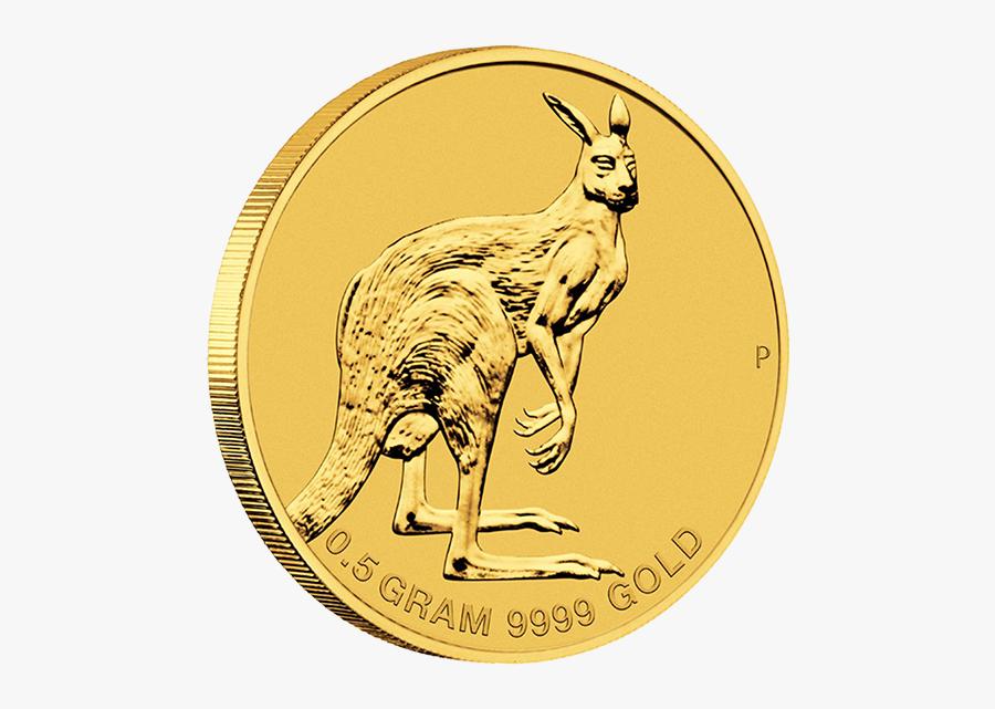 Australia 2013 2$ Mini Roo 2013 0,5g Gold Coin - Gold Coin, Transparent Clipart