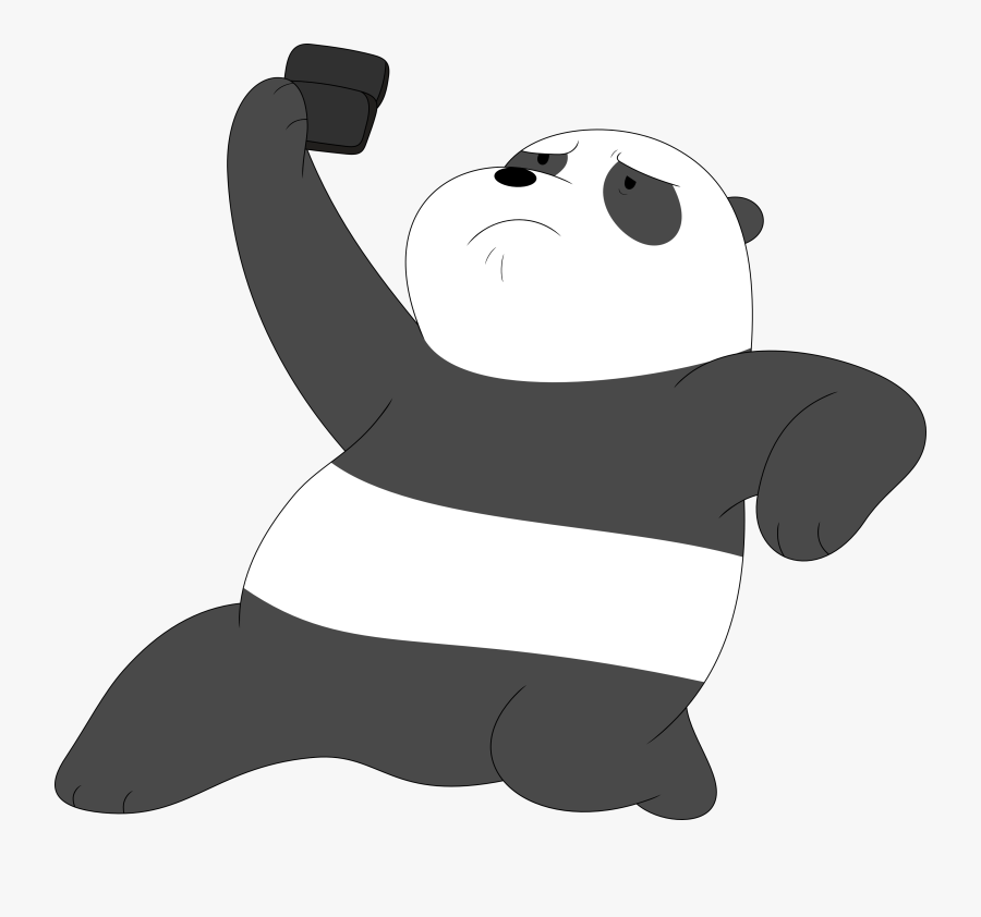Transparent Bears Png - We Bare Bears Panda Png, Transparent Clipart