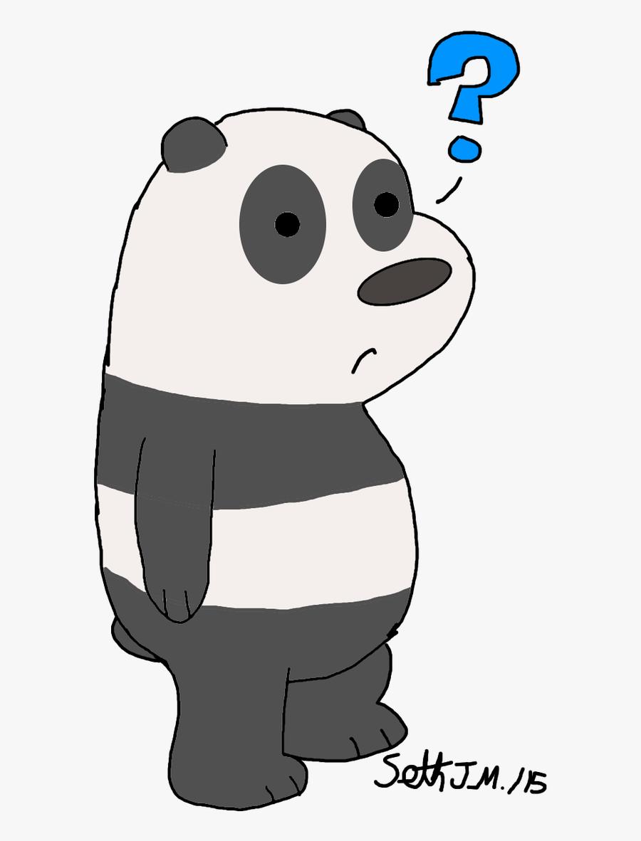 Panda Clipart We Bare Bears - Panda Png We Bare Bear, Transparent Clipart