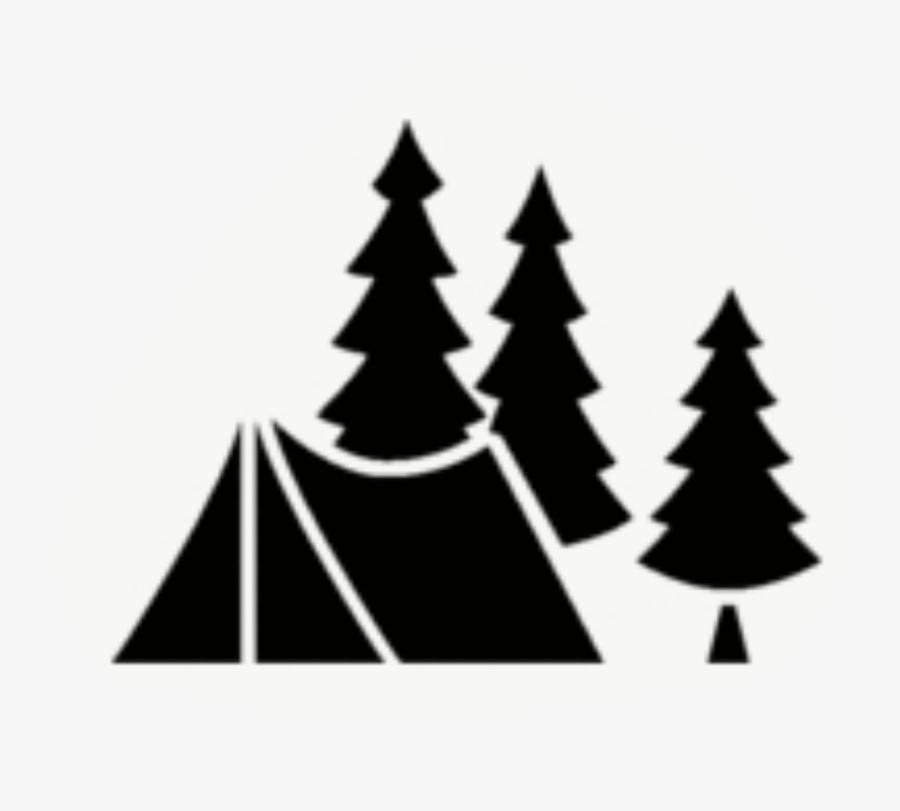 """S""""more Camping Campsite Outdoor Recreation Tent - Tent Camping Silhouette Png, Transparent Clipart"""