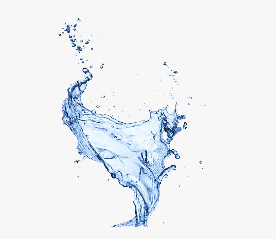 Water Drop Drops Free Frame - Water Drop Splash Png, Transparent Clipart