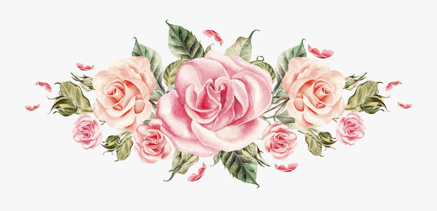 Clip Art Pin By Ali Say - Pink Rose Flower Png, Transparent Clipart