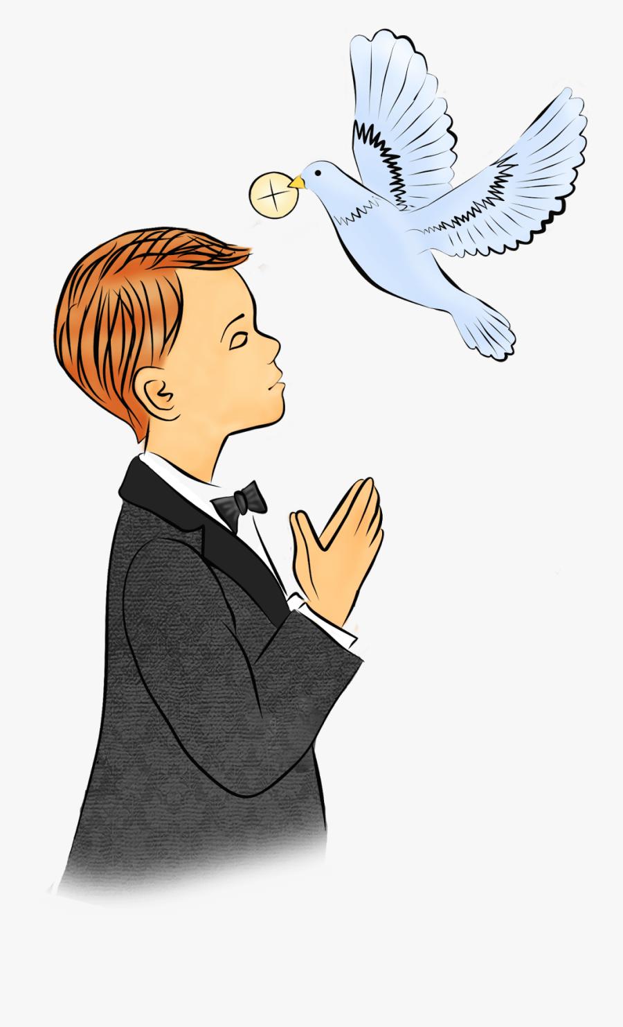 Holy Communion Clipart Boy, Transparent Clipart