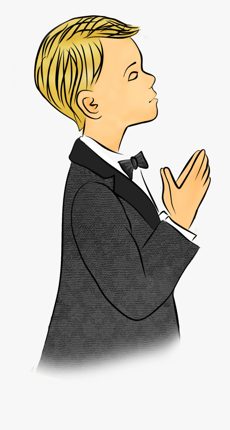 First Holy Communion Boy Clipart, Transparent Clipart