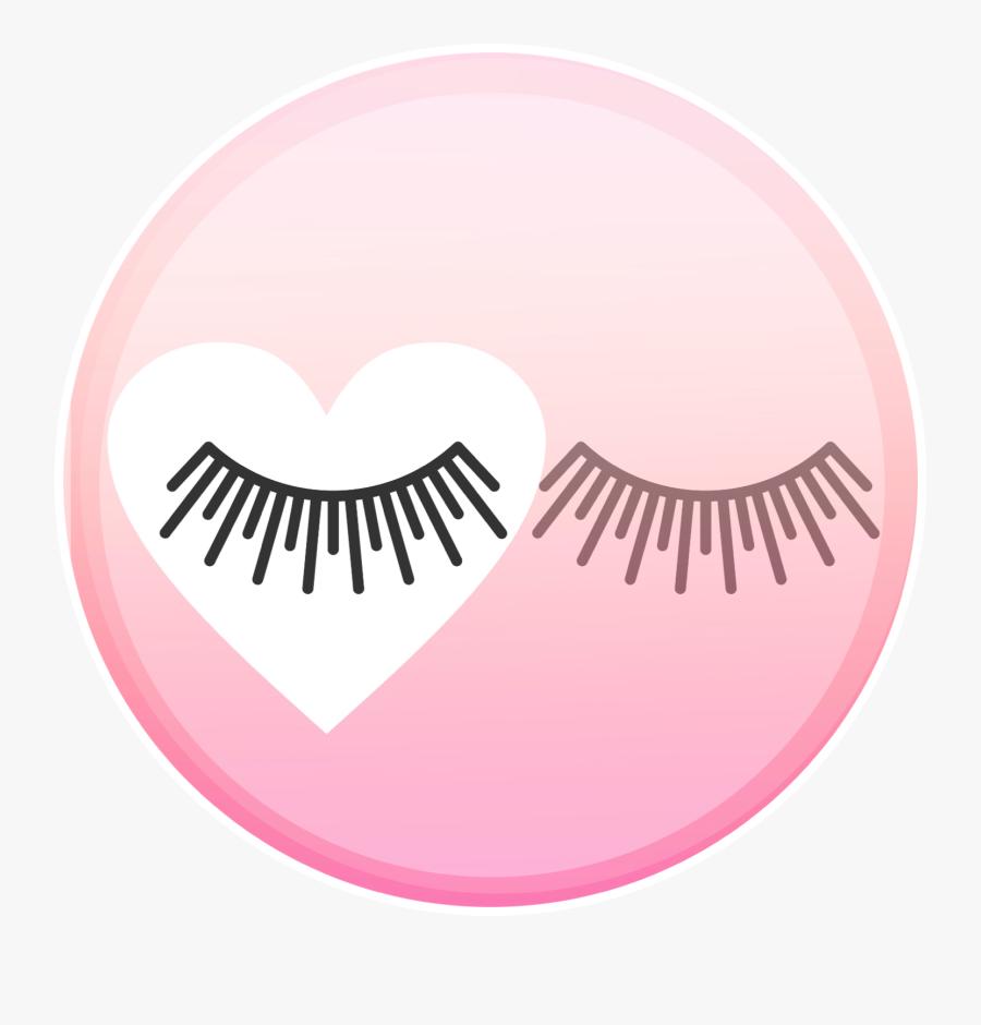 Eyelash Icon Png, Transparent Clipart