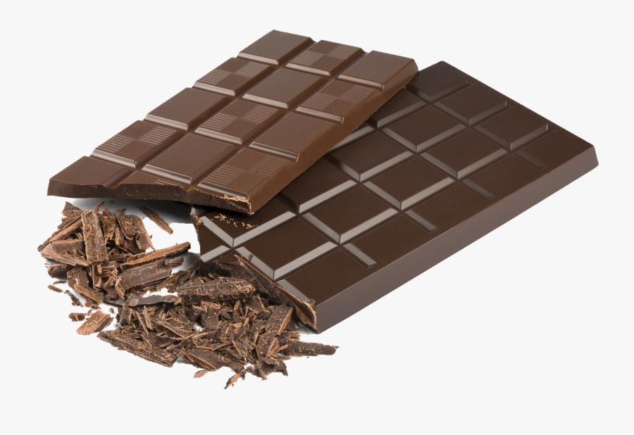 Chocolate Bar Ice Cream Hot Chocolate Compound Chocolate - Transparent Background Chocolate Png, Transparent Clipart