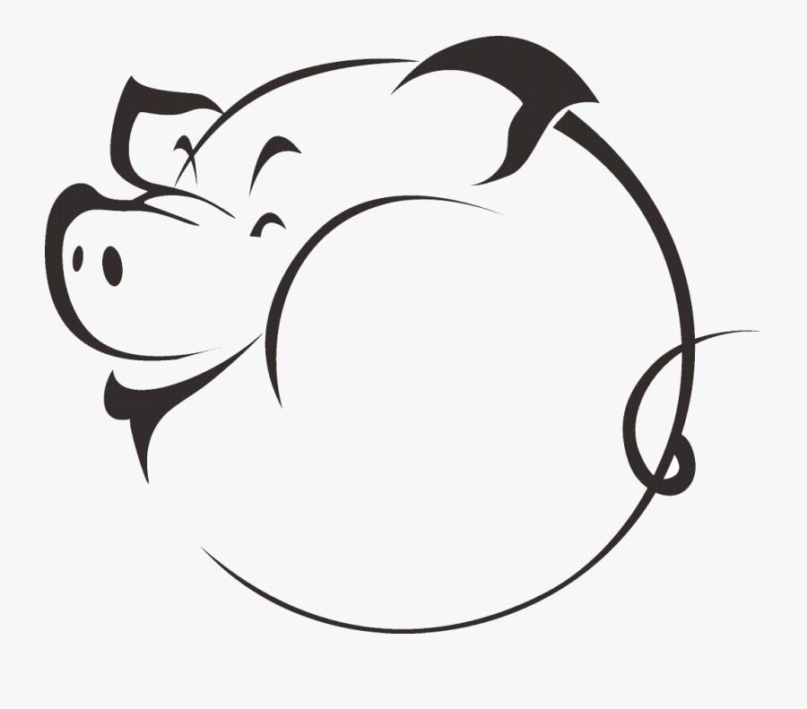 Transparent Pig Head Png Hog Silhouette Free Transparent Clipart Clipartkey