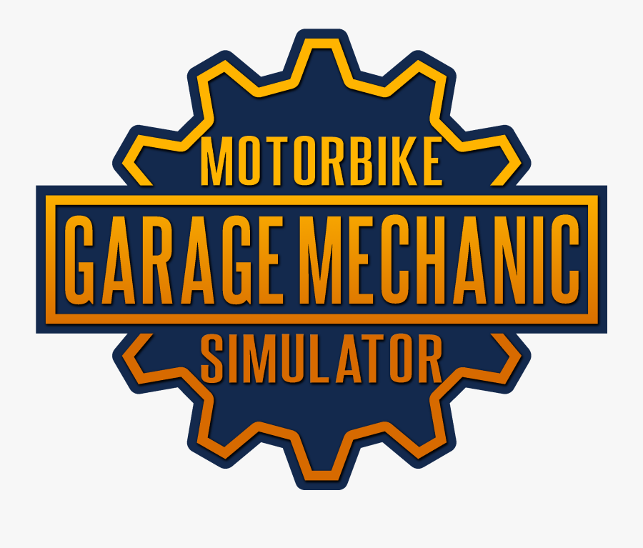 Motorbike Garage Mechanic Simulator Poster, Transparent Clipart