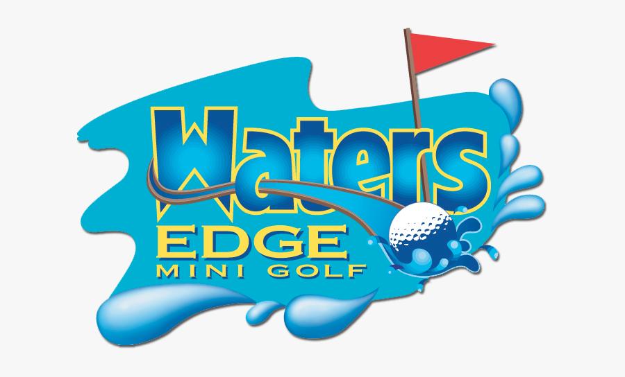 Golf Clipart Mini Golf - Waters Edge Mini Golf, Transparent Clipart