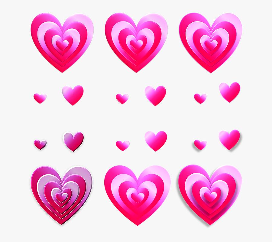 Baby Shower Border 24, Buy Clip Art - Heart, Transparent Clipart
