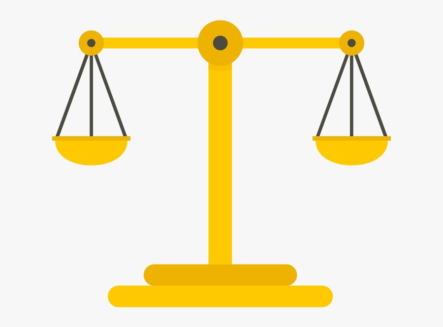 Transparent Justice Scales Png - Illustration Scales Png, Transparent Clipart