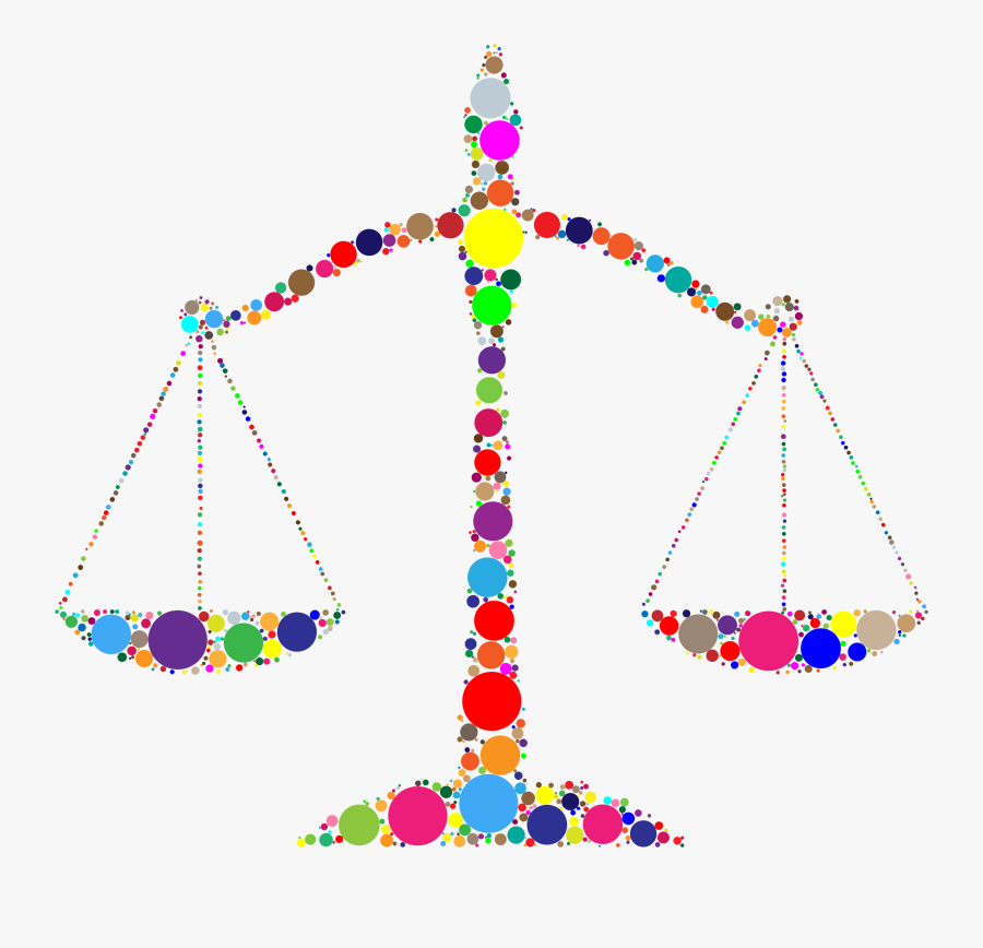 Transparent Scales Of Justice Png - Cool Scales Of Justice, Transparent Clipart