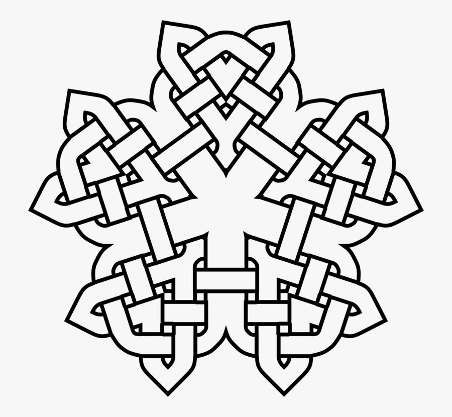 Line Art,symmetry,area - Estilo Celta, Transparent Clipart